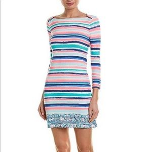 Lilly Pulitzer UPF 50+ Sophie Dress Sandy Shell
